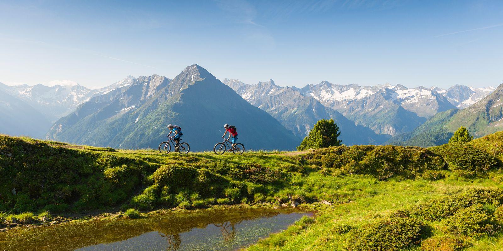 Mountain bike tours in the upper Zillertal