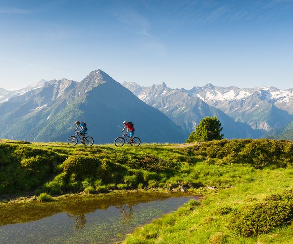 Mountain bike tours in the upper Zillertal