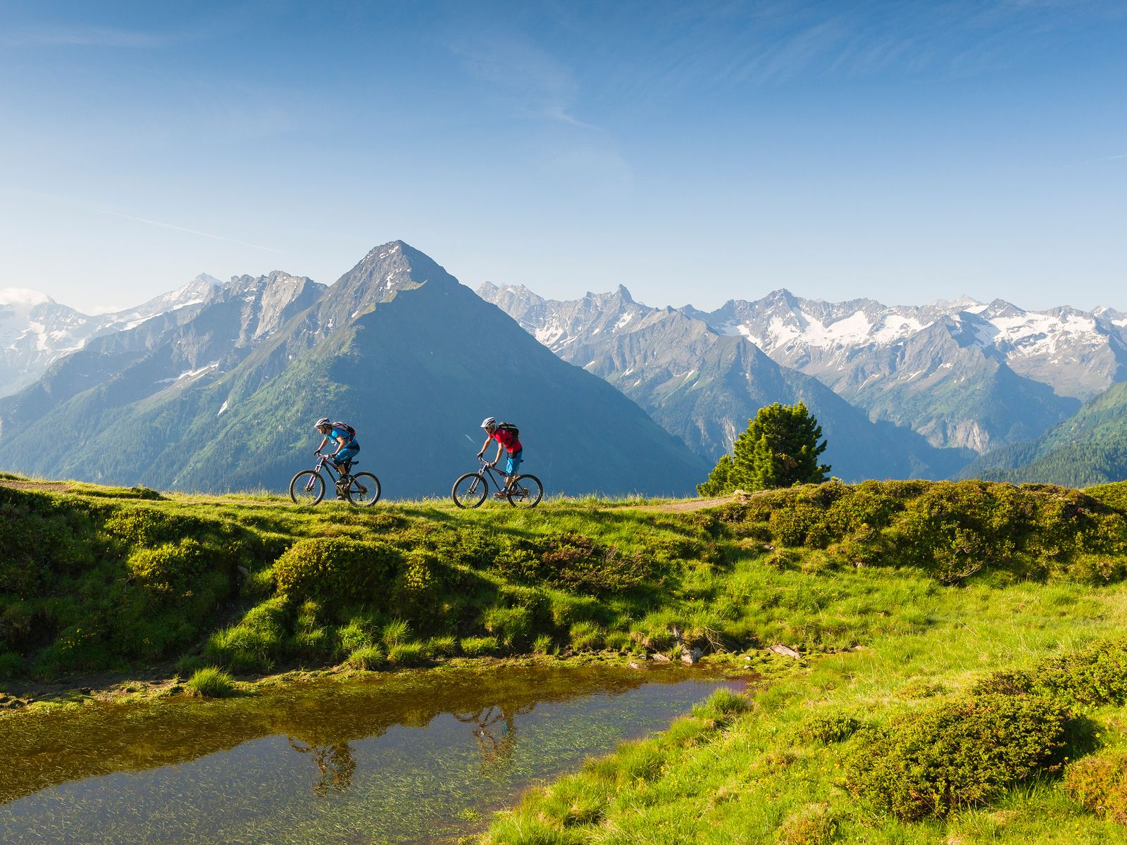 Mountainbiketouren im hinteren Zillertal